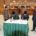 Bupati dan Ketua DPRD menandatangani SK dan Berita Acara Pengesahan RPJMD disaksikan Wakil Ketua DPRD, Sekda dan Sekretaris DPRD Langkat